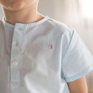 Camisa niño Aqua