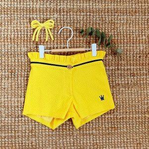 Colección SELENE short amarillo