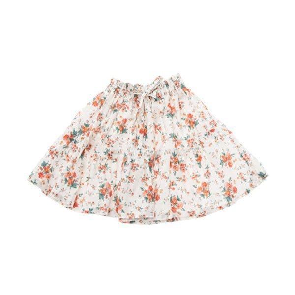 Tocoto vintage Falda de flores