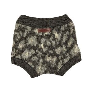 Bloomer de punto con animal print